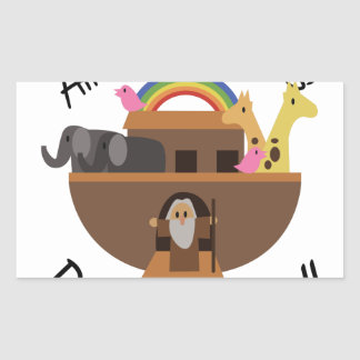 All Creatures Rectangular Sticker