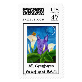 All CreaturesGreat and Small Postage