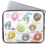 All Cute Chibi Muses Laptop Sleeve