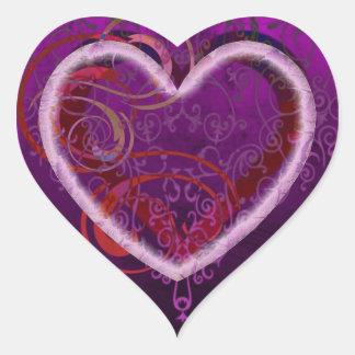 All Daddy's Love Heart Sticker