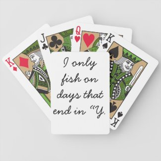 All day bicycle poker cards