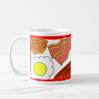 All Day Breakfast Classic White Coffee Mug