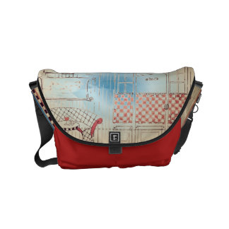 All Day Cafe Small Messenger Bag