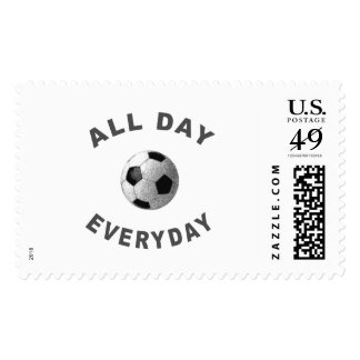 All Day Everyday Soccer R Postage