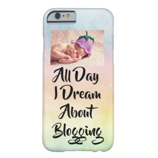All Day I Dream About Blogging iPhone Case