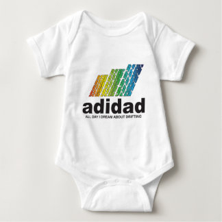 All Day I Dream About Drifting (adidad) Baby Bodysuit