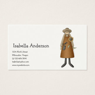 All dem Blessings · Doll, Crow & Sunflower Business Card