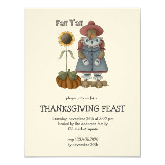 All dem Blessings · Fall Y'all Card