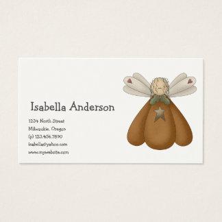 All dem Blessings · Pumpkin Angel Business Card