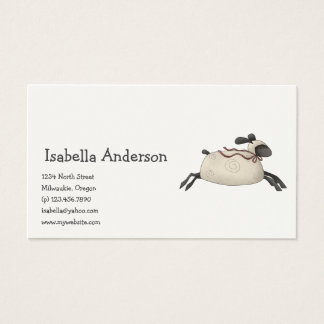 All dem Blessings · Sheep Business Card