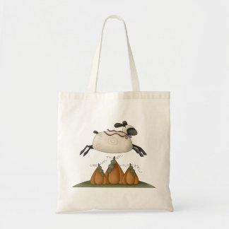 All dem Blessings · Sheep & Pumpkins Canvas Bags