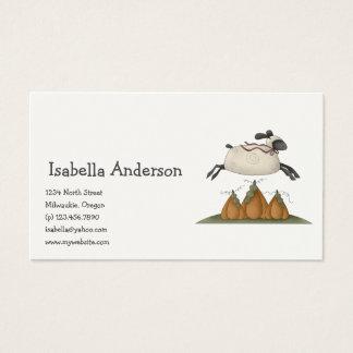 All dem Blessings · Sheep & Pumpkins Business Card