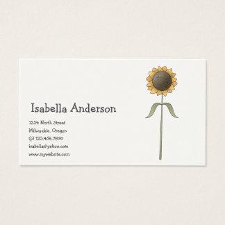 All dem Blessings · Sunflower Business Card