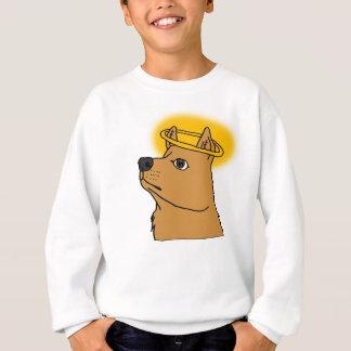 All Dogs Go To Heaven Hand-drawn Cartoon Sweatshirt