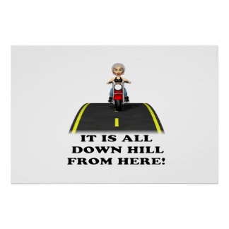 All Down Hill From Here 2 Poster