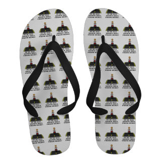 All Down Hill From Here 4 Flip-Flops