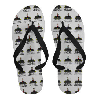 All Down Hill From Here 5 Flip-Flops
