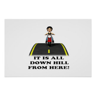 All Down Hill From Here 5 Posters