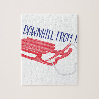 All Downhill Jigsaw Puzzle
