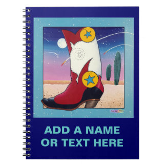 All Dressed Up Cowboy Boot Notebook