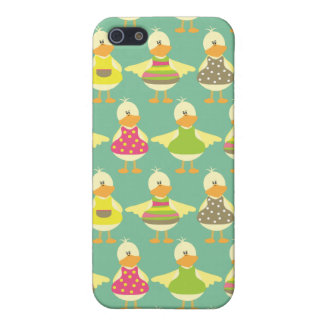 all dressed up cute ducks in a row cover for iPhone SE/5/5s