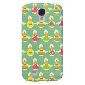 all dressed up cute ducks in a row galaxy s4 cover