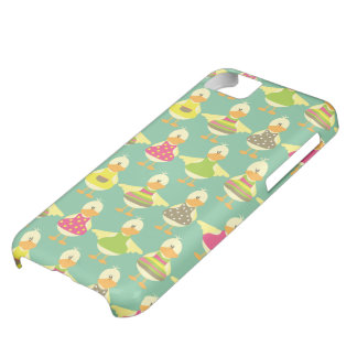 all dressed up cute ducks in a row iPhone 5C cases