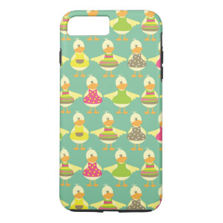 all dressed up cute ducks in a row iPhone 8 plus/7 plus case