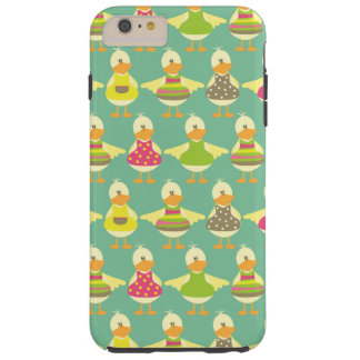 all dressed up cute ducks in a row tough iPhone 6 plus case