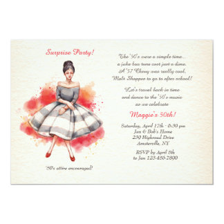 All Dressed Up Invitation