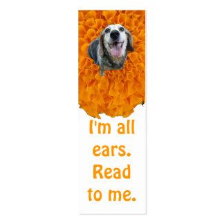 All Ears Bookmark Business Card