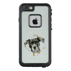 LifeProof® FRĒ® for iPhone® 5/5S/SE Case with Bull Terrier Phone Cases design