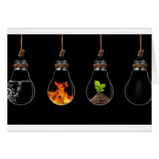 all-elements-of-life-in-hanging-bulbs-abstract-wal card
