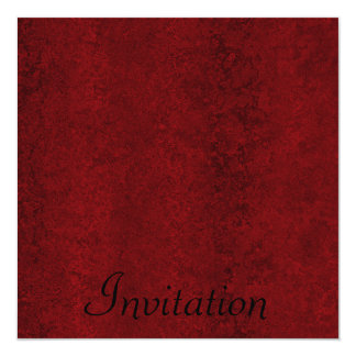 All Events Red Black Marbling Card
