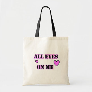 All Eyes On Me Hearts Budget Tote