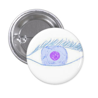 All eyes on this 1 inch round button