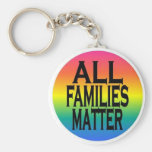 All Families Matter keychain