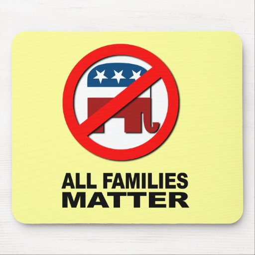 All families matter mouse pad