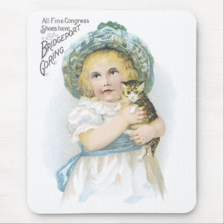 All Fine Congress Shoes Have Bridgeport Goring Mouse Pad