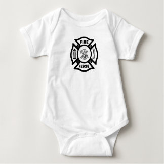 All Fire Rescue Apparel Baby Bodysuit