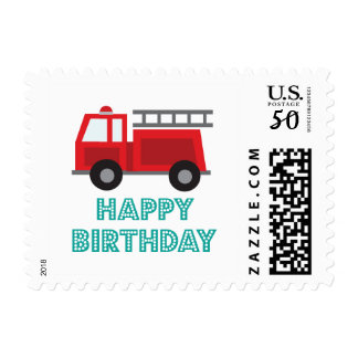 All Fired Up Birthday Stamps