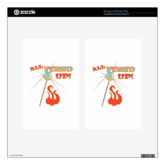 All Fired Up! Kindle Fire Skins