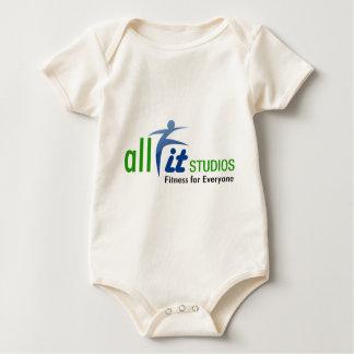 All Fit Studios Namasté Infant Organic Creeper