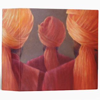 All Five Heads 3 Ring Binder