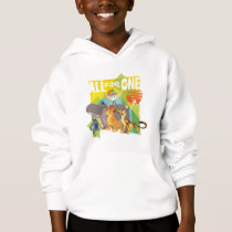 All For One Lion Guard Graphic Hoodie