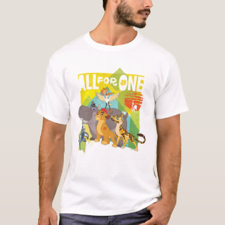 All For One Lion Guard Graphic T-Shirt