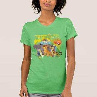 All For One Lion Guard Graphic T Shirt