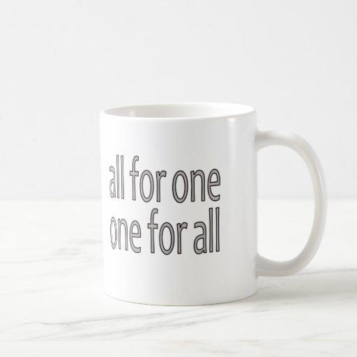 All for One, Un Pour Tous Mug
