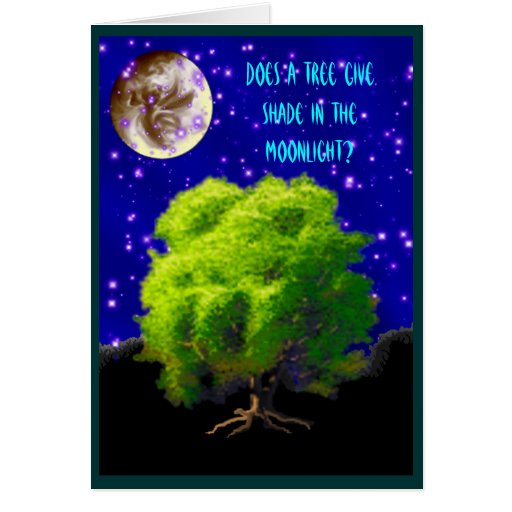 All For the Love of Trees Greeting Card