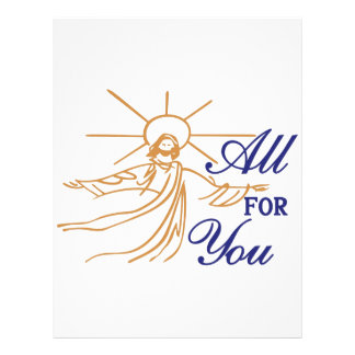 All For You Letterhead